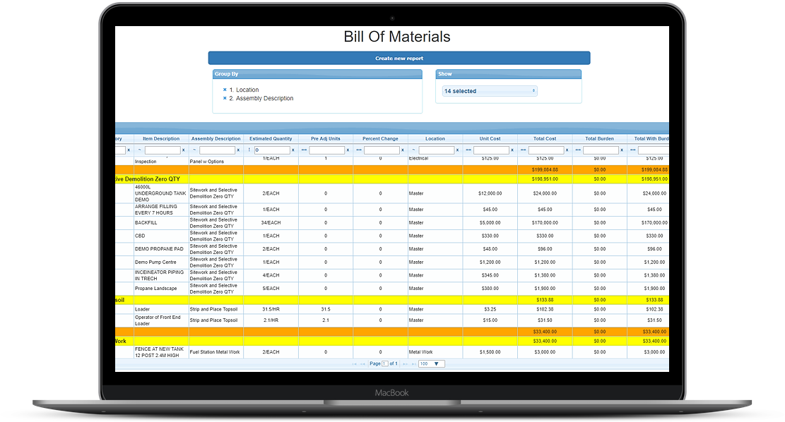 Project Management Screenshot Computer Mockup